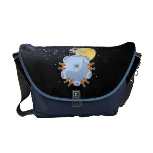 La bolsa de mensajero - el lado oscuro de la luna bolsas de mensajeria