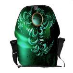 La bolsa de mensajero elegante del arte abstracto  bolsa de mensajeria