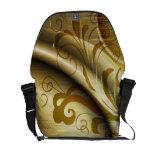 La bolsa de mensajero elegante del arte abstracto  bolsas de mensajería