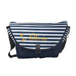 La bolsa de mensajero elegante náutica bolsa de mensajería