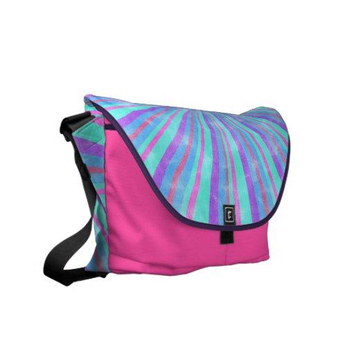 La bolsa de mensajero en colores pastel coloreada  bolsas messenger