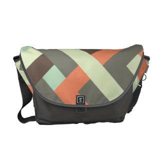La bolsa de mensajero entrelazada 002 bolsa de mensajeria