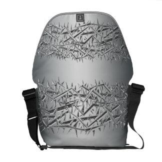 La bolsa de mensajero espinosa del modelo del bolsa messenger