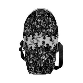 La bolsa de mensajero esquelética de la horda bolsas de mensajería