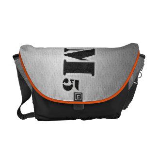La bolsa de mensajero estarcida bolsas de mensajería