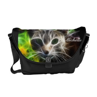 La bolsa de mensajero extrema del fractal del gati bolsas de mensajería