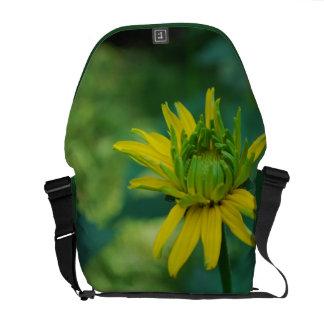 La bolsa de mensajero falsa de florecimiento del g bolsa de mensajeria