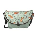 La bolsa de mensajero floral astuta bolsa de mensajeria