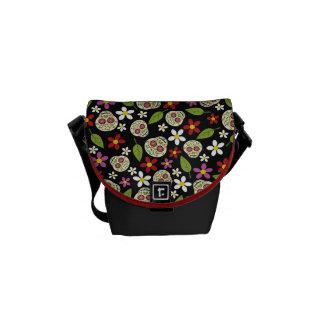 La bolsa de mensajero floral de la impresión de bolsas de mensajería