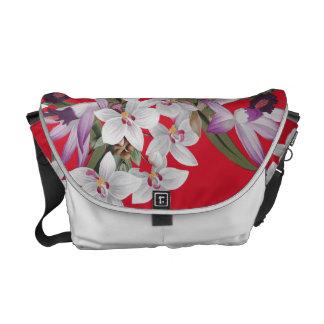 La bolsa de mensajero floral de la isla de la flor bolsa de mensajería