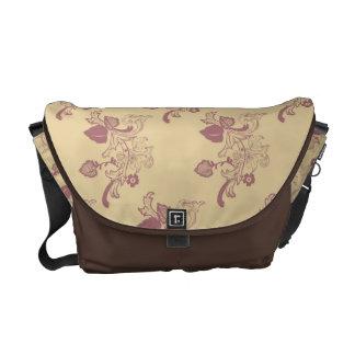 La bolsa de mensajero floral del estilo de la rege bolsa de mensajeria