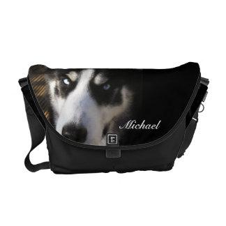 La bolsa de mensajero fornida del perro bolsas messenger