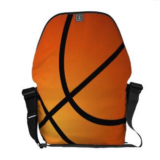 La bolsa de mensajero fresca del baloncesto bolsa messenger