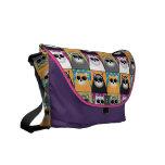 La bolsa de mensajero fresca del gato bolsa de mensajería