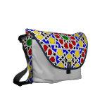 La bolsa de mensajero geométrica islámica del mode bolsa de mensajeria