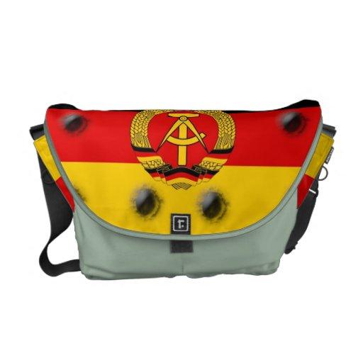 La bolsa de mensajero germanooriental de la bander bolsas messenger