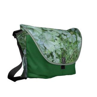 La bolsa de mensajero grande de la hierba bolsa de mensajeria