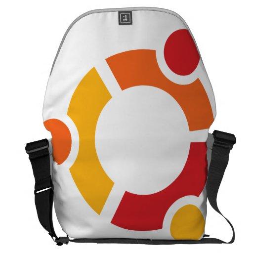 La bolsa de mensajero grande de Ubuntu Bolsa Messenger