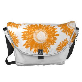 La bolsa de mensajero grande del carrito anaranjad bolsa messenger