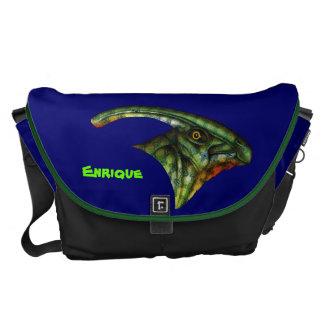 La bolsa de mensajero grande del Hadrosaur Bolsa Messenger
