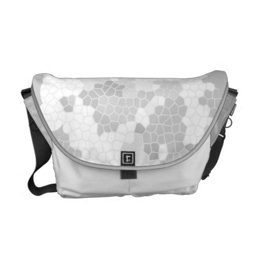 La bolsa de mensajero gris del conde bolsas messenger