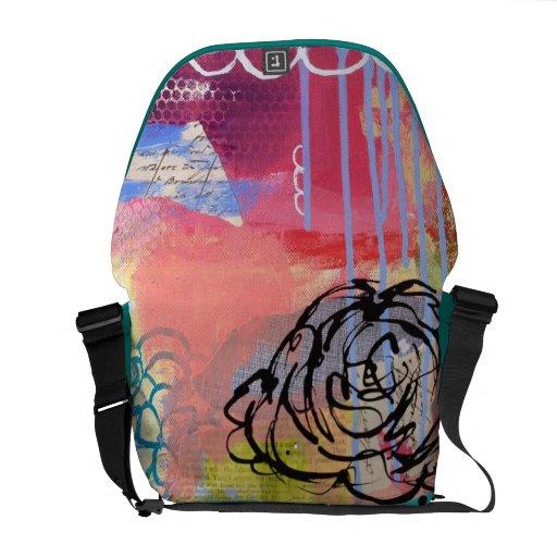 La bolsa de mensajero hermosa del lío bolsas messenger