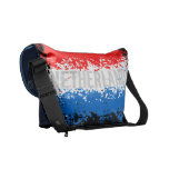La bolsa de mensajero holandesa de la bandera bolsas de mensajeria