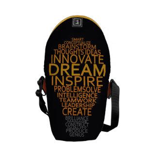 La bolsa de mensajero inspirada del personalizado  bolsas messenger