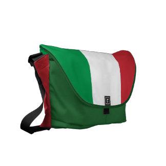La bolsa de mensajero italiana del carrito de la b bolsa de mensajeria