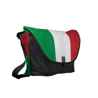 La bolsa de mensajero italiana el | Tricolore Ital Bolsa De Mensajería
