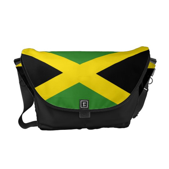 La bolsa de mensajero jamaicana del carrito de la  bolsa messenger