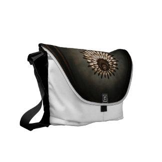 La bolsa de mensajero - lámpara del teatro de la bolsa de mensajeria