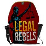 La bolsa de mensajero legal de los rebeldes bolsa de mensajeria