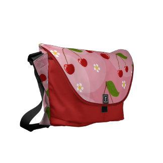 La bolsa de mensajero linda del carrito de las cer bolsas de mensajería