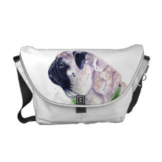 La bolsa de mensajero linda del carrito del perro  bolsas de mensajería