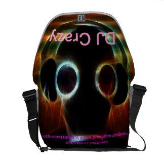 La bolsa de mensajero loca de DJ Bolsas Messenger