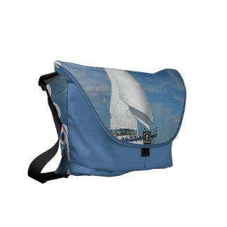 La bolsa de mensajero majestuosa de la vela bolsas messenger