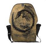 La bolsa de mensajero media del carrito del dinosa bolsas de mensajeria
