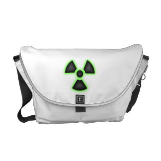 La bolsa de mensajero media radiactiva bolsas messenger