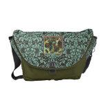 La bolsa de mensajero medieval adornada de la imag bolsa messenger