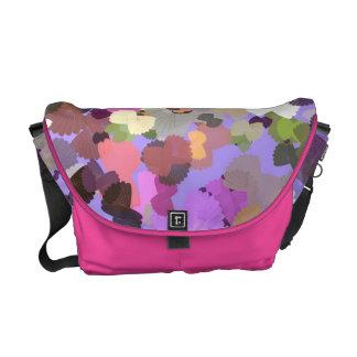 La bolsa de mensajero mezclada del estilo del bowt bolsa de mensajeria
