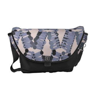 La bolsa de mensajero modelada del carrito bolsa de mensajería