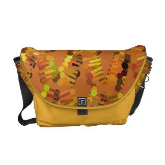 La bolsa de mensajero modelada del carrito bolsas de mensajería