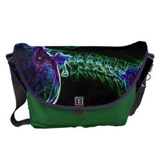 La bolsa de mensajero multicolora de la C-espina d Bolsa De Mensajeria