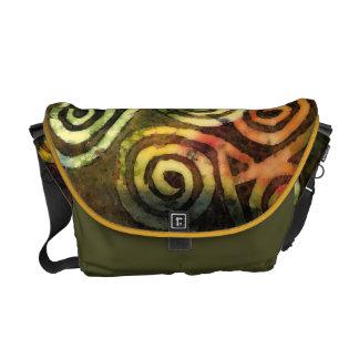 La bolsa de mensajero neolítica del arte de la cue bolsas messenger