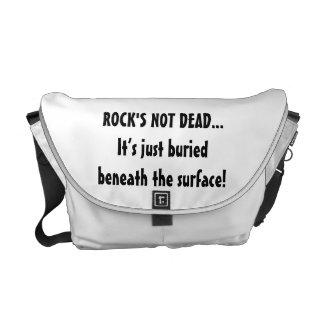 La bolsa de mensajero no muerta de la roca bolsas de mensajeria
