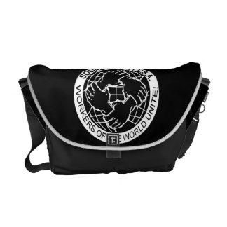 La bolsa de mensajero oficial del logotipo de los  bolsa de mensajería