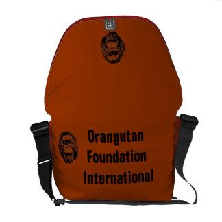 La bolsa de mensajero oficial del logotipo de OFI Bolsas De Mensajeria