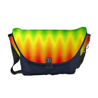La bolsa de mensajero - onda del arco iris bolsa de mensajeria