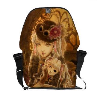 La bolsa de mensajero oscura de la fantasía de bolsa de mensajería